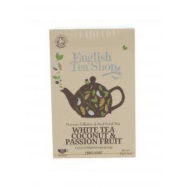 Bílý čaj English Tea Shop Coconut Bio
