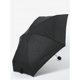 Černý skládací deštník RAINY SEASONS Flat Plain