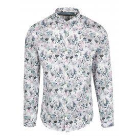 Bílá květovaná košile Lindbergh