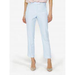 Světle modré zkrácené kalhoty Miss Selfridge