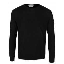 Černý svetr z merino vlny Jack & Jones Premium Mark