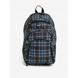 Šedo-modrý károvaný batoh LOAP Reny 20 l