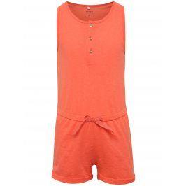 Oranžový holčičí overal name it Kasta