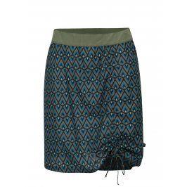 Tmavě šedá vzorovaná sukně Tranquillo Oroya