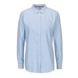 Světle modrá košile s náprsní kapsou ONLY Lauren