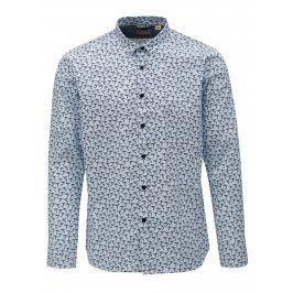 Modro-bílá vzorovaná košile Dstrezzed