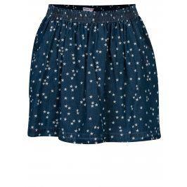 Tmavě modrá sukně s kapsami a motivem hvězd 5.10.15.