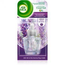 Air Wick Essential Oils Purple Lavander Meadow elektrický osvěžovač vzduchu 19 ml náhradní náplň