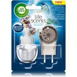 Air Wick Life Scents Turquoise Oasis elektrický osvěžovač vzduchu 19 ml s náplní