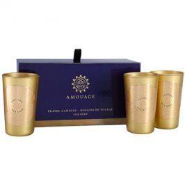Amouage Silk Road dárková sada I. svíčka 3 x 55 g