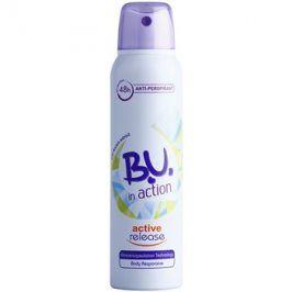 B.U. In Action Active Release antiperspirant pro ženy 150 ml