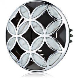 Bath & Body Works Silver Shiny Pattern držák na vůni do auta   clip
