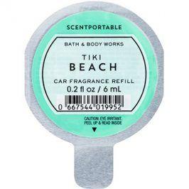 Bath & Body Works Tiki Beach vůně do auta 6 ml náhradní náplň