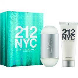 Carolina Herrera 212 NYC dárková sada IX.  toaletní voda 100 ml + tělové mléko 100 ml