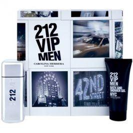 Carolina Herrera 212 VIP Men dárková sada IX. toaletní voda 100 ml + sprchový gel 100 ml