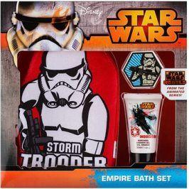 EP Line Star Wars dárková sada III.  sprchový gel 30 ml + mycí rukavice + šumivá kapsle do koupele