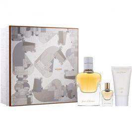 Hermès Jour d'Hermès dárková sada II. parfémovaná voda 85 ml + parfémovaná voda 7,5 ml + tělové mléko 30 ml