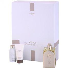 Hermès Voyage d'Hermès dárková sada I. toaletní voda 100 ml + sprchový gel 30 ml + tělové mléko 30 ml