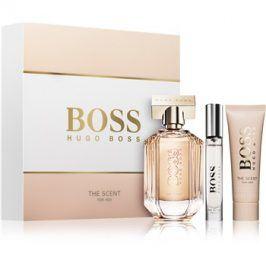 Hugo Boss Boss The Scent dárková sada V.  parfémovaná voda 100 ml + tělový krém 50 ml + parfémovaná voda 7,4 ml
