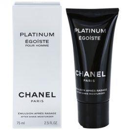 Chanel Egoiste Platinum emulze po holení pro muže 75 ml