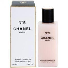 Chanel N° 5 sprchový krém pro ženy 200 ml
