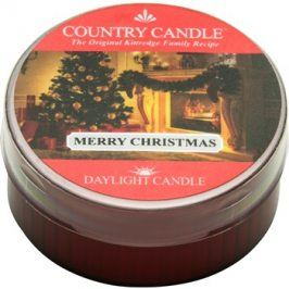 Kringle Candle Country Candle Merry Christmas čajová svíčka 42 g