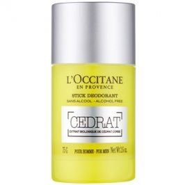 L'Occitane Cedrat deodorant roll-on pro muže 75 g
