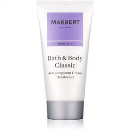 Marbert Bath & Body Classic deodorant v krému pro ženy 50 ml