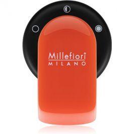 Millefiori GO držák na vůni do auta   s náplní Arancione (Sandalo Bergamotto)