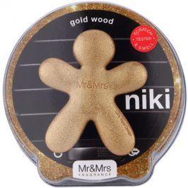 Mr & Mrs Fragrance Niki Gold Wood vůně do auta