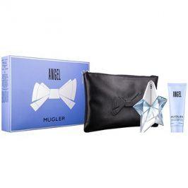 Mugler Angel dárková sada XXXII.  parfémovaná voda 25 ml + tělové mléko 50 ml + taška