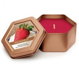 Root Candles Wild Strawberry vonná svíčka 113 g v plechovce
