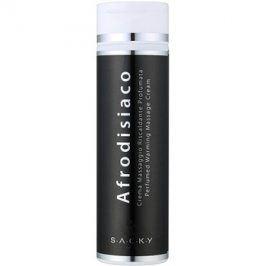S.A.C.K.Y. Afrodisiaco parfémovaný zahřívací masážní krém unisex 200 ml