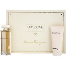 Salvatore Ferragamo Emozione dárková sada III. parfémovaná voda 50 ml + tělové mléko 100 ml