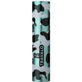 Travalo Classic Case plastový obal na plnitelný rozprašovač parfémů unisex    Camouflage Green