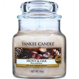 Yankee Candle Ebony & Oak vonná svíčka 104 g Classic malá