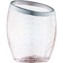 Yankee Candle Pearlescent Crackle skleněný svícen na votivní svíčku    Pink