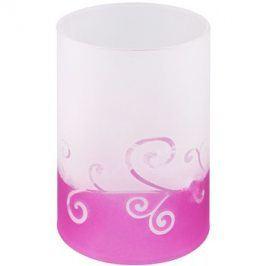 Yankee Candle Purple Scroll Skleněný svícen na čajovou svíčku