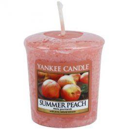 Yankee Candle Summer Peach votivní svíčka 49 g