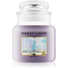 Yankee Candle Sweet Nothings vonná svíčka 411 g Classic střední