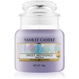 Yankee Candle Sweet Nothings vonná svíčka 104 g Classic malá
