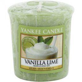 Yankee Candle Vanilla Lime votivní svíčka 49 g