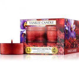 Yankee Candle Vibrant Saffron čajová svíčka 12 ks