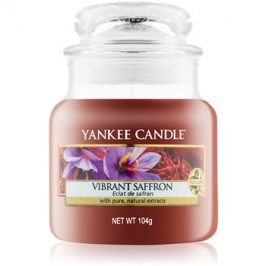 Yankee Candle Vibrant Saffron vonná svíčka 104 g Classic malá