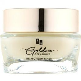 AA Cosmetics Golden Ceramides obnovující krémová maska se zlatem  50 ml