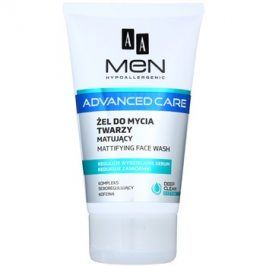 AA Cosmetics Men Advanced Care matující čisticí gel na obličej  150 ml