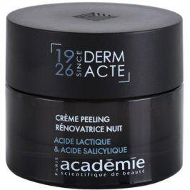 Academie Derm Acte Intense Age Recovery noční protivráskový krém s peelingovým efektem  50 ml
