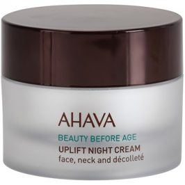 Ahava Beauty Before Age noční liftingový krém na obličej, krk a dekolt  50 ml