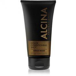 Alcina Color Conditioning Shot Brown tónovací balzám pro zvýraznění barvy vlasů odstín Cold Brown 150 ml