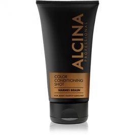 Alcina Color Conditioning Shot Brown tónovací balzám pro zvýraznění barvy vlasů odstín Warm Brown 150 ml